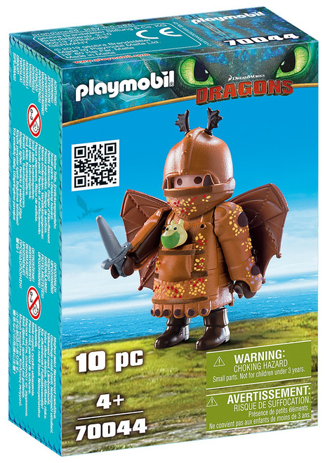 Playmobil Dragons How to Train Your Dragon Fishlegs with Flight Suit Set #70044