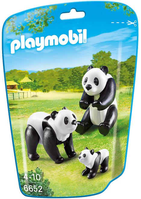 Playmobil City Life Panda Family Set #6652