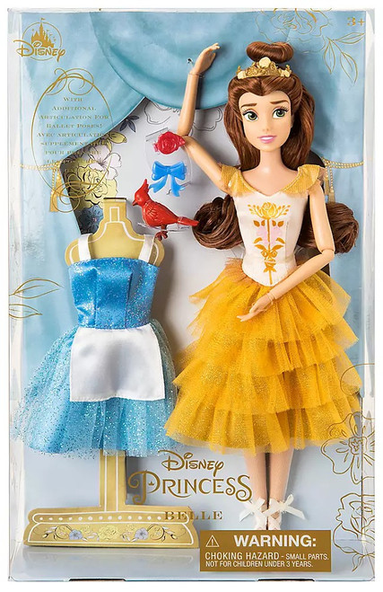 Disney Princess Beauty and the Beast Classic Belle Exclusive 11.5-Inch Doll