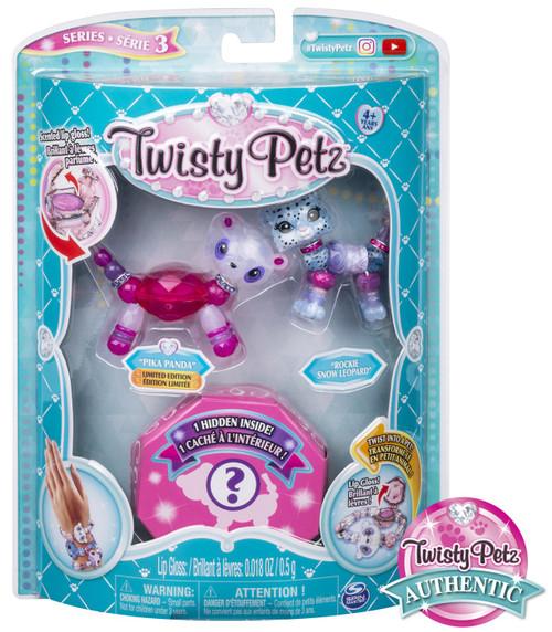 Twisty Petz Series 3 Pika Panda & Rockie Snow Leopard 3-Pack