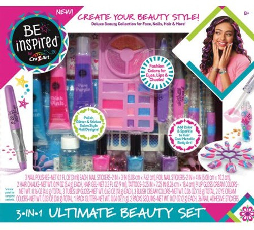 Be Inspired 3 in 1 Ultimate Beauty Set