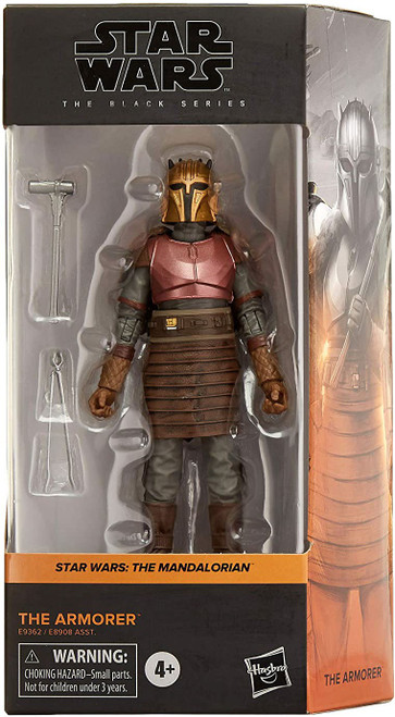Star Wars The Mandalorian Black Series Wave 27 The Armorer Action Figure (Pre-Order ships January)