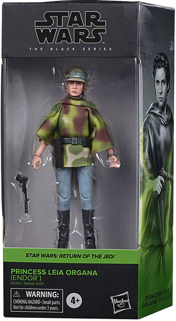 Star Wars Return of the Jedi Black Series Wave 27 Princess Leia Action Figure (Pre-Order ships January)