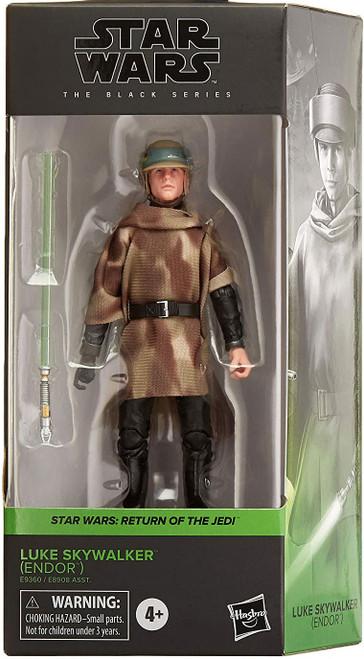 Star Wars Return of the Jedi Black Series Wave 27 Luke Skywalker Action Figure [Endor] (Pre-Order ships October)