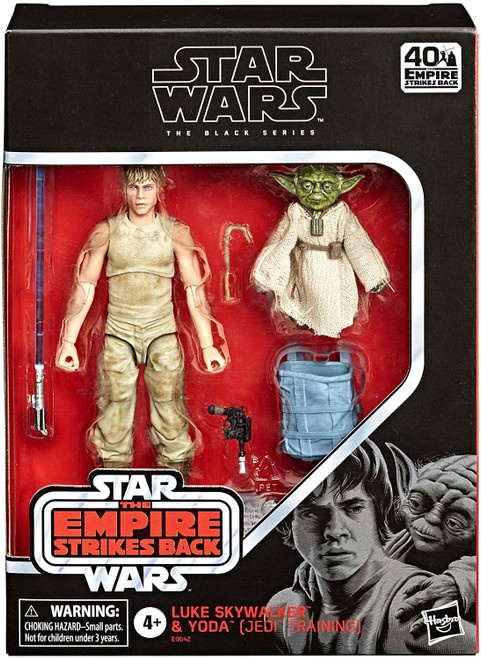 Star Wars Black Series Luke Skywalker & Yoda (Jedi Training) Deluxe Action Figure 2-Pack
