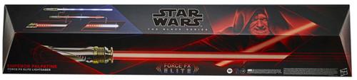 Star Wars Black Series Emperor Palpatine Force FX Lightsaber