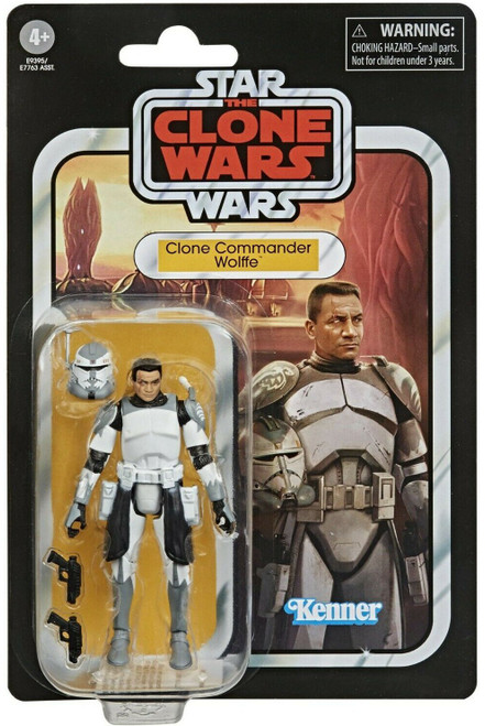 Star Wars Clone Wars Vintage Collection Wave 1 Clone Commander Wolffe Action Figure