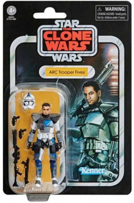 Star Wars The Clone Wars Vintage Collection Wave 2 ARC Trooper Fives Action Figure