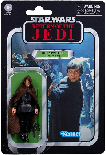 Star Wars Return of the Jedi 2020 Vintage Collection Wave 2 Luke Skywalker Action Figure [Jedi Knight]