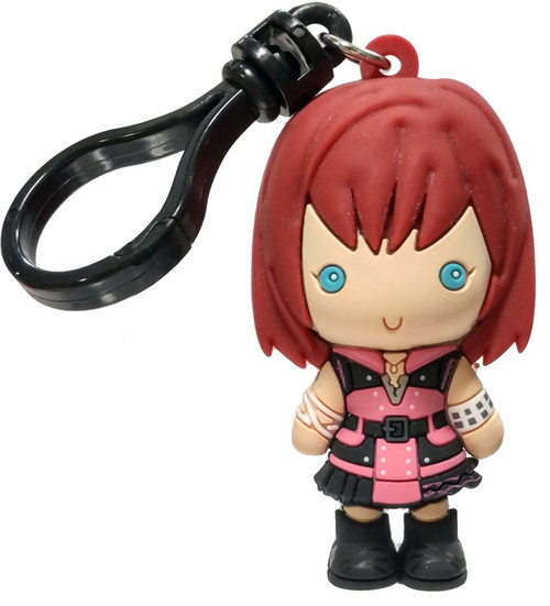 Disney 3D Figural Bag Clip Kingdom Hearts Series 4 Kairi Keychain [Loose]