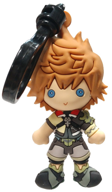 Disney 3D Figural Bag Clip Kingdom Hearts Series 4 Ventus Keychain [Loose]