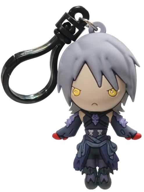 Disney 3D Figural Bag Clip Kingdom Hearts Series 4 Dark Aqua Keychain [Loose]