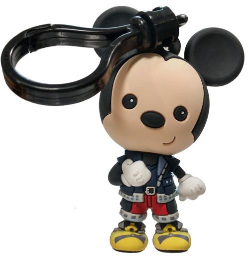 Disney 3D Figural Bag Clip Kingdom Hearts Series 4 Mickey Keychain [Loose]