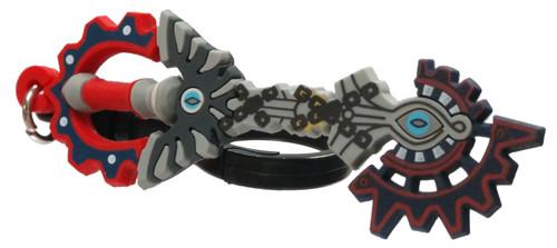 Disney 3D Figural Bag Clip Kingdom Hearts Series 4 Void Gear Keychain [Exclusive B Loose]