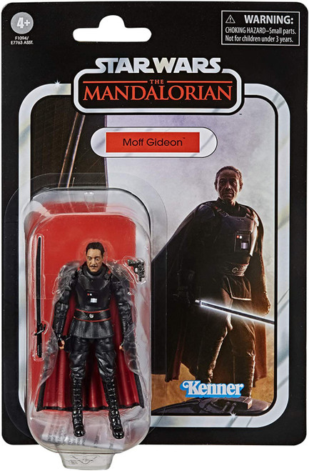 Star Wars The Mandalorian Vintage Collection Moff Gideon Action Figure (Pre-Order ships January)