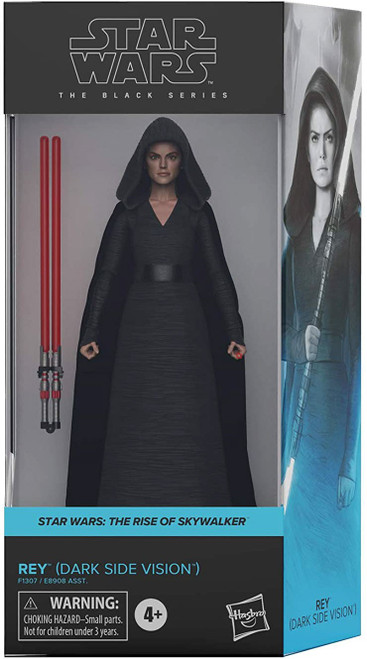 Star Wars The Rise of Skywalker Black Series 2020 Wave 3 Rey Action Figure [Dark Side Vision] (Pre-Order ships January)