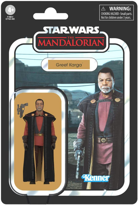 Star Wars The Mandalorian Vintage Collection Greef Karga Action Figure (Pre-Order ships March)
