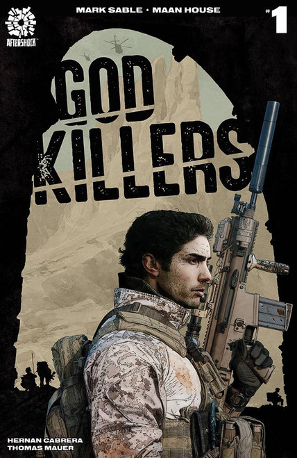 Aftershock Comics Godkillers #1 Comic Book [Tim Bradstreet Variant Cover]