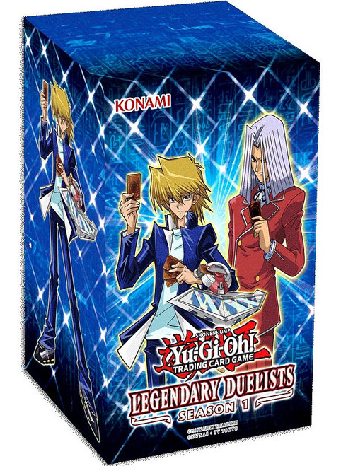 YuGiOh Trading Card Game Legendary Duelists Season 1 BLASTER Box