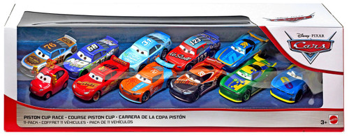 Disney / Pixar Cars Cars 3 Piston Cup Race Exclusive Diecast Car 11-Pack [Version 4]