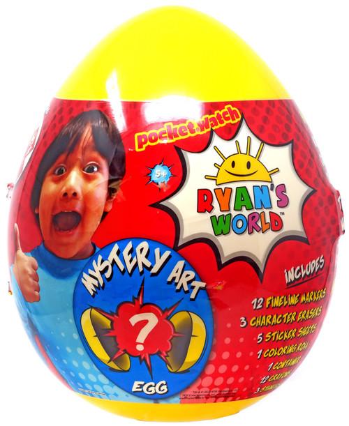 Ryan's World Giant Mystery Art Egg Mystery Surprise