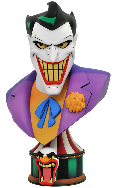 DC Batman The Animated Series Comic Legends in 3D The Joker Half-Scale Bust