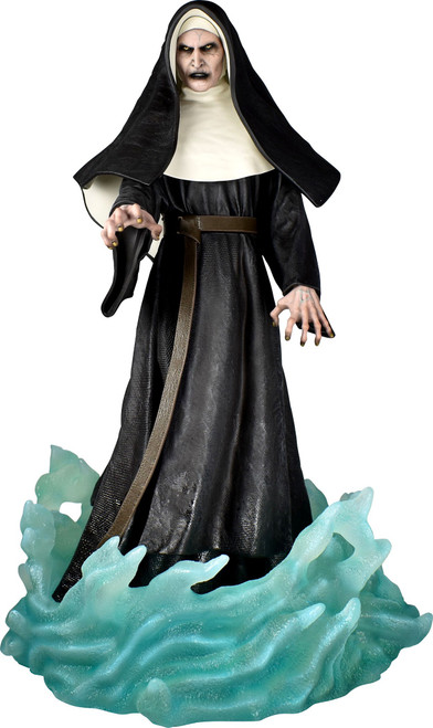 The Conjuring Gallery The Nun (Valak) 9-Inch PVC Diorama Statue (Pre-Order ships October)