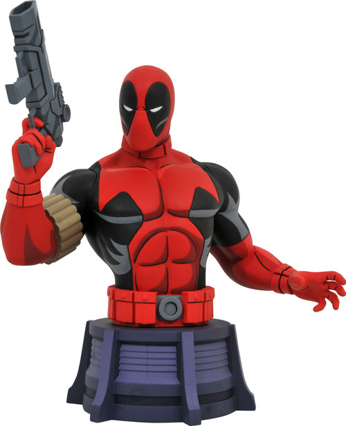 Marvel X-Men The Animated Series Deadpool 6-Inch Bust