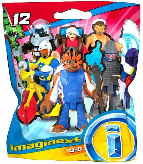 Fisher Price Imaginext Series 12 Collectible Figure Mystery Pack