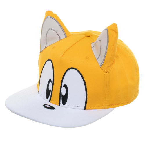 Sonic The Hedgehog Tails Big Face Snapback Cap (Pre-Order ships January)