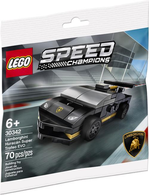LEGO Speed Champions Lamborghini Huracan Super Trofeo EVO Set