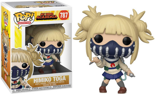 Funko My Hero Academia POP! Animation Himiko Toga with Face Cover Vinyl Figure #787