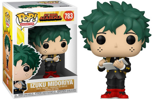 Funko My Hero Academia POP! Animation Deku Vinyl Figure #783 [Middle School Uniform]
