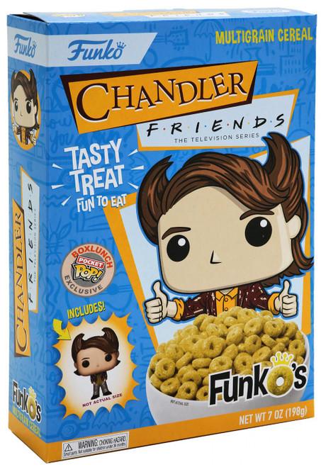 FunkO's Friends Chandler Exclusive 7 Oz. Breakfast Cereal