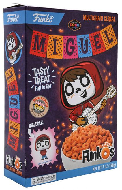 FunkO's Coco Miguel Exclusive 7 Oz. Breakfast Cereal