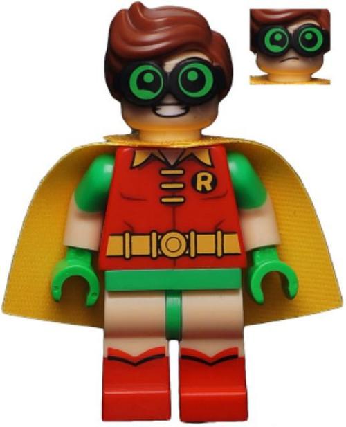 DC Universe Super Heroes The LEGO Batman Movie Robin Minifigure [Green Glasses Loose]