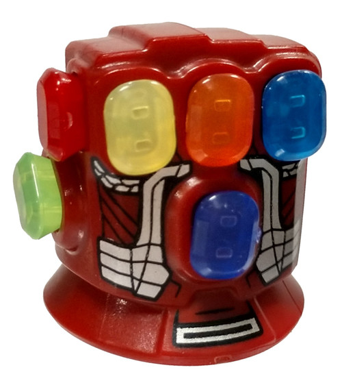 LEGO Marvel Super Heroes Avengers Endgame Iron Man Infinity Gauntlet Accessory [Complete with 6 Stones Loose]