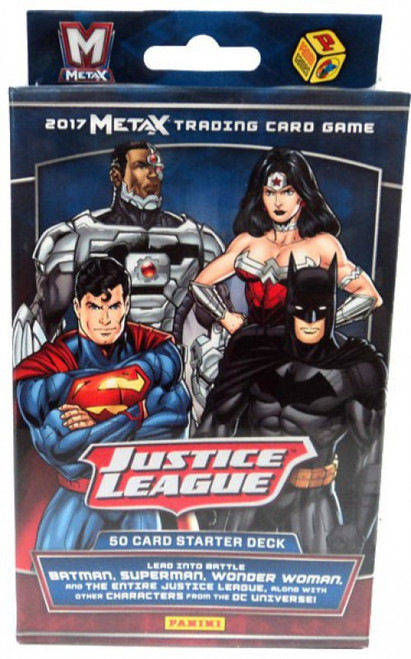 Justice League Panini Meta X Starter Deck [Open Package, Mint Contents]
