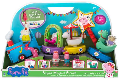 Peppa Pig Peppa's Magical Parade Vehicle & Figure Set