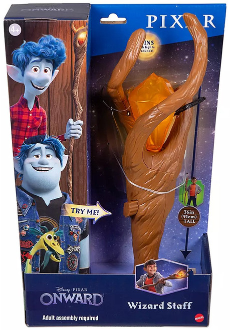 Disney / Pixar Onward Wizard Staff Roleplay Toy