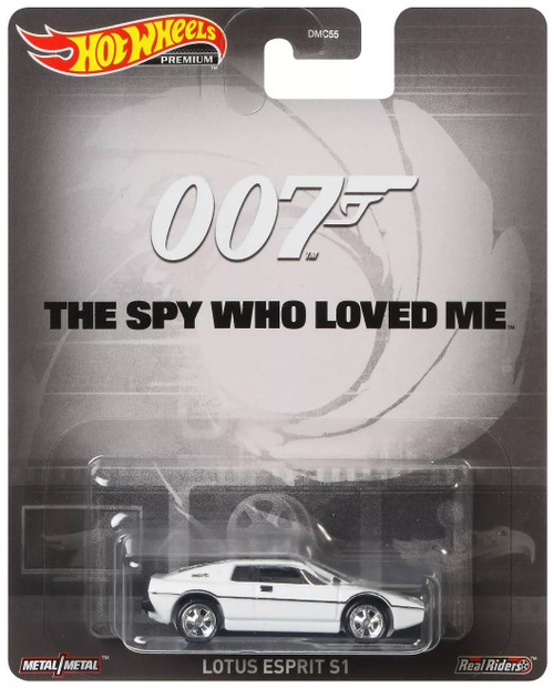 Hot Wheels Premium 007 Lotus Esprit S1 Die Cast Car [The Spy Who Loved Me]