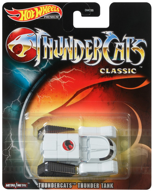 Hot Wheels Premium Thundercats Thunder Tank Die Cast Car