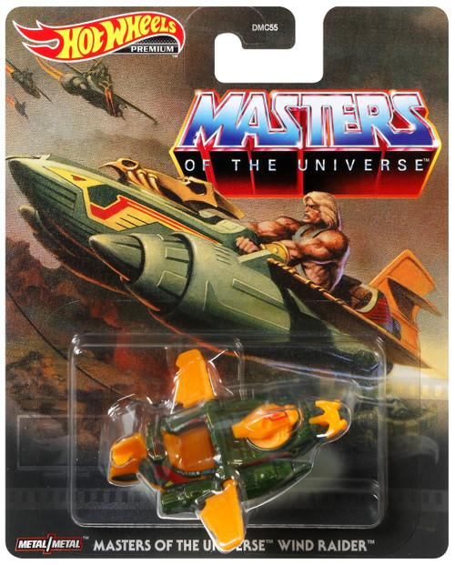Hot Wheels Premium Masters of the Universe Wind Raider Die Cast Car
