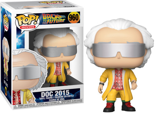 Funko Back to the Future POP! Movies Doc 2015 Vinyl Figure