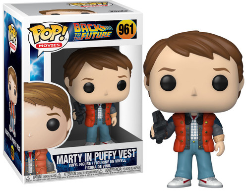 Funko Back to the Future POP! Movies Marty in Puffy Vest Vinyl Figure #961