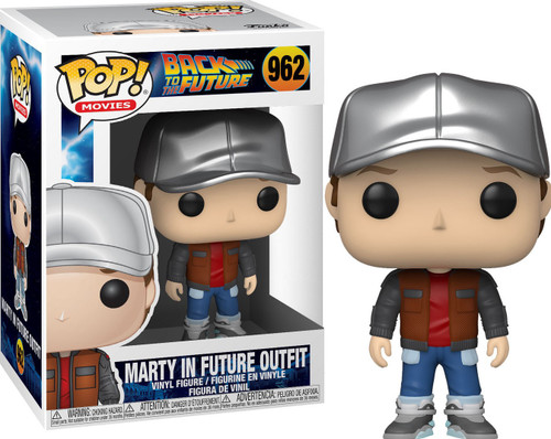 Funko Back to the Future POP! Movies Marty in Future Outfit Vinyl Figure #962