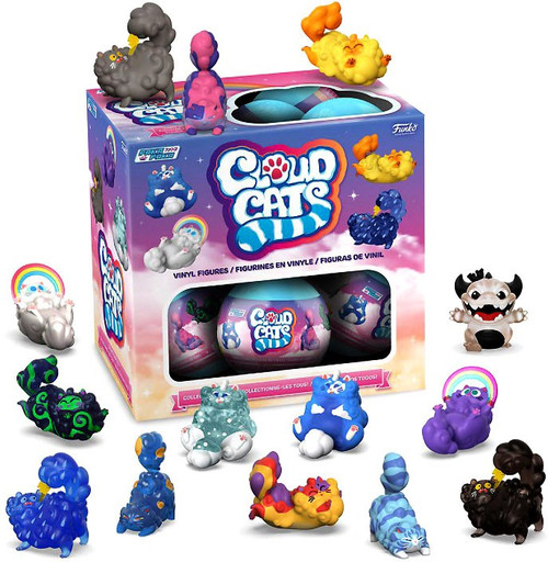 Funko Paka Paka Mini Figure Cloud Cats Mystery Box [18 Packs]