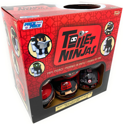 Funko Paka Paka Mini Figure Toilet Ninjas Mystery Box [18 Packs]