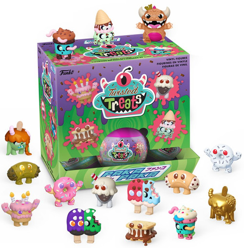 Funko Paka Paka Mini Figure Twisted Treats Mystery Box [18 Packs]