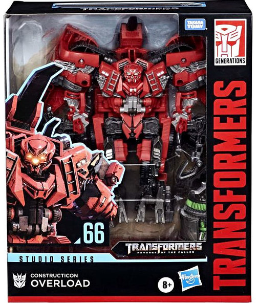 Transformers Generations Studio Series Overload Leader Action Figure #66 [Revenge of the Fallen]